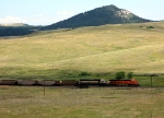 BNSF 5968 & 9535 trek south